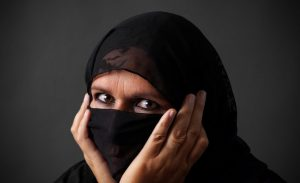 Middle Aged Muslim Woman